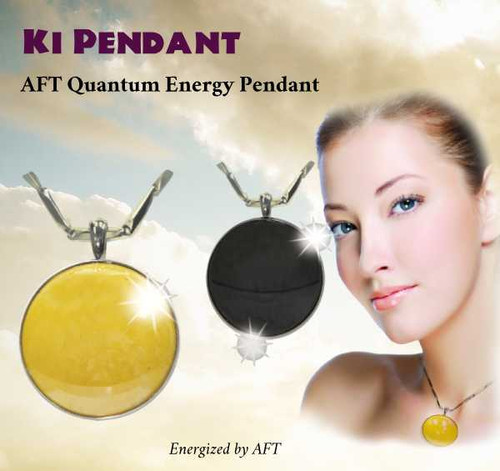 KI Pendant – Energy Balancing Ceramic Pendant