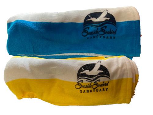Seaside Seabird Sanctuary Beach Towel
