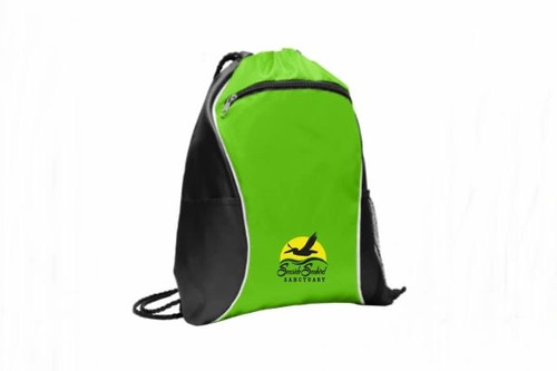 Seaside Seabird Sanctuary String Backpack