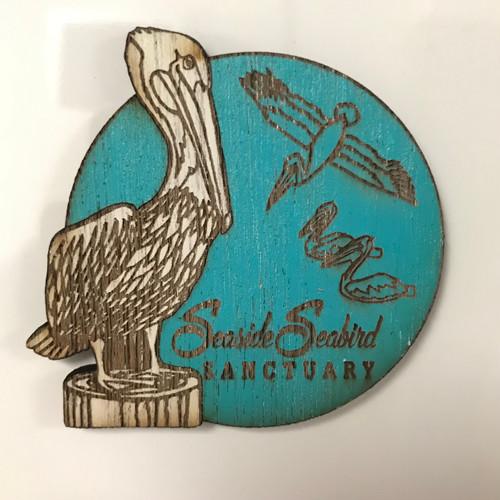 Seaside Seabird Sanctuary Logo Magnet