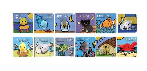Various Animal Finger Puppet Books