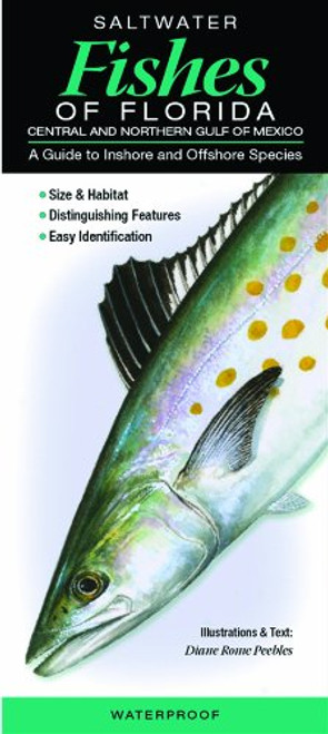 Saltwater Fishes of Florida Folding Pocket Guide