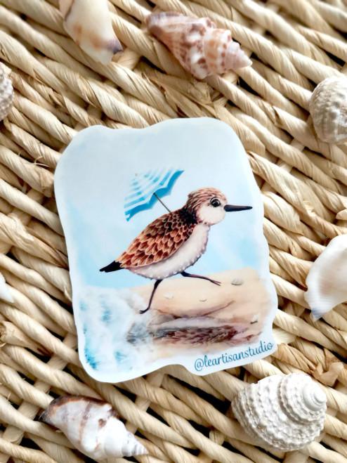 Sandpiper Sticker