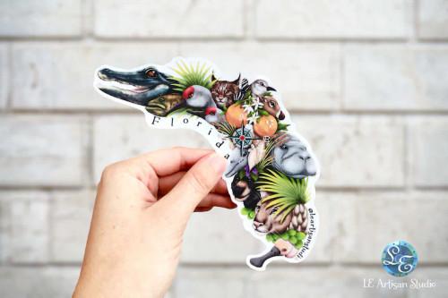Florida Wildlife Sticker