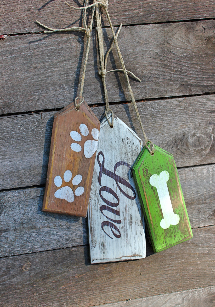 Wood Hang Tags