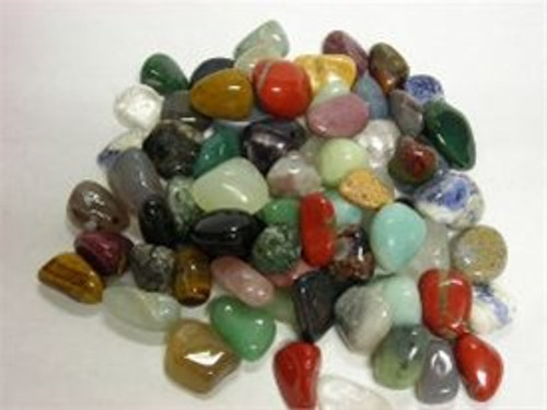 Polished Tumbled GemStone Mix 10 lb box