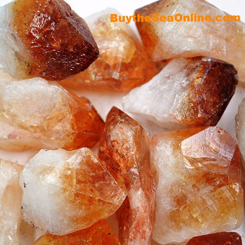 "Our Citrine Points are 1""-2"" you will receive 3 points they are golden yellow on the tip with a natural root being a nice contrasting opaque white. Powered by the Sun, Citrine warms, cleanses, and energizes."
