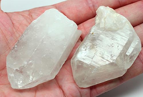 2 Huge Natural Crystal Quartz Points crystal healing