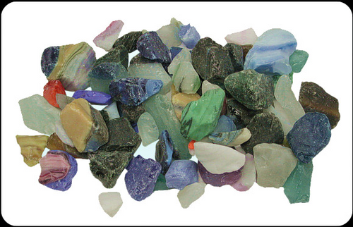 Beach Glass Marble Color Sea glass 1 pound bags