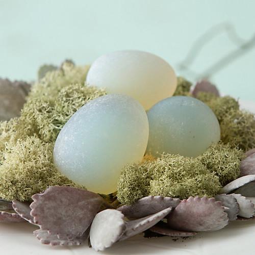 Magic Glass Eggs Light Stones 2 pcs