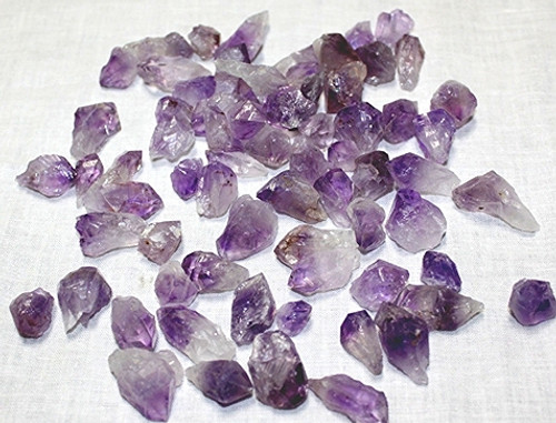Amethyst Natural Points Mediums 1/2 Pound bags