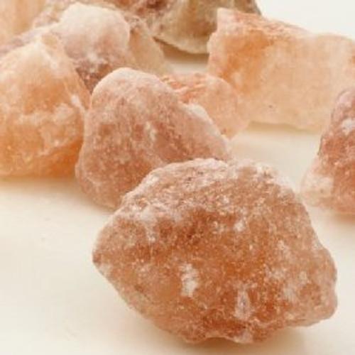 """Himalayan Salt Chunks 2-4"""" size Tibet 2 lb bag Free Shipping"""