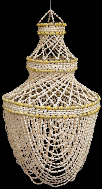 """Nassa Cowrie Shell Chandelier (30"""") Free Shipping Shell Wind chime"""