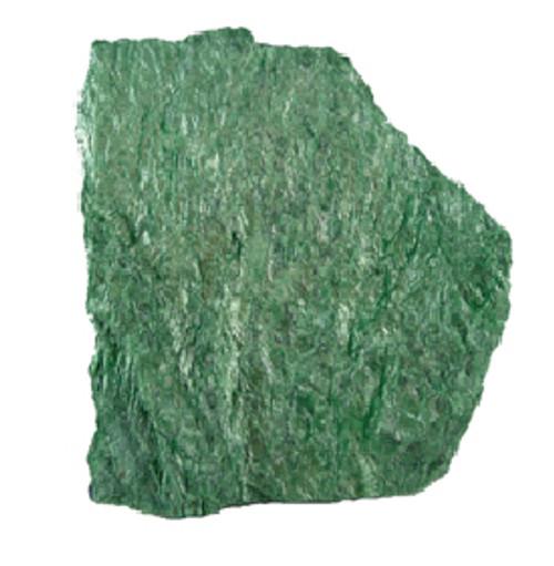 Fuschite Rough (Emerald Green) Brazil 1/2 lb bag 30-50 mm