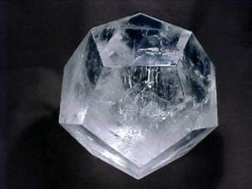 Dodecohedron Crystal Clear Quartz brazil 50-55 mm