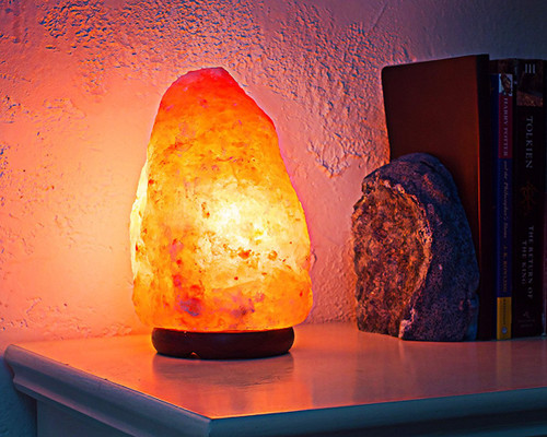 Himalayan Crystal Salt Lamp 4-6lb Free Shipping