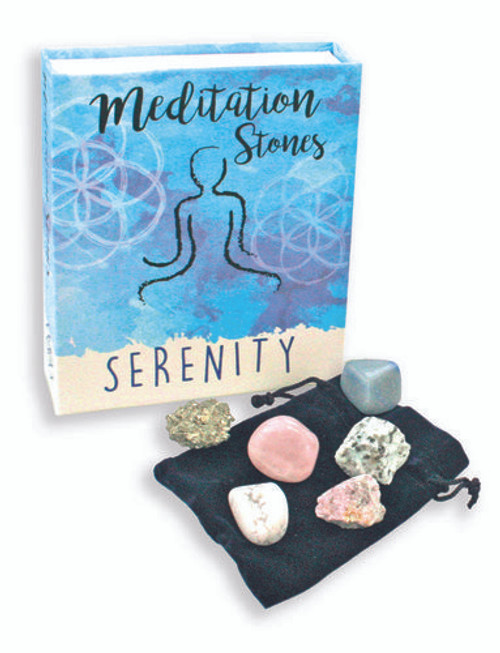 Meditation Stones Serenity Assortment Kit Free Shipping