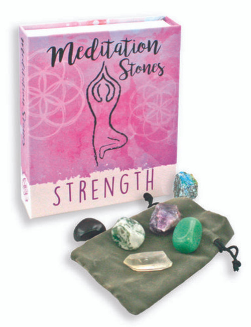 Meditation Stones Strength Assortment Kit Free Shipping