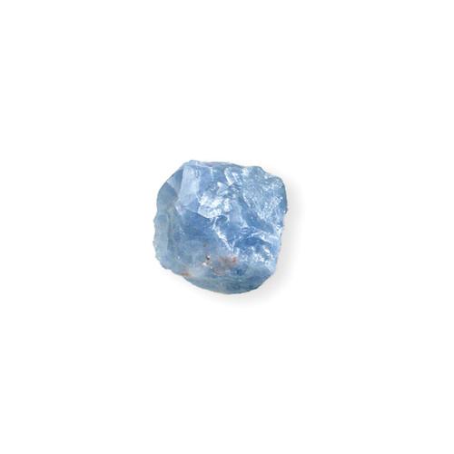 Blue Calcite Mineral Rock w/ Bag