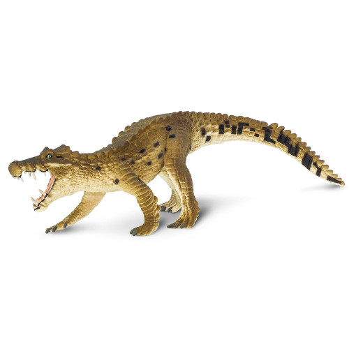 Kaprosuchus Realistic Hand Painted Toy Figurine Model by Safari Ltd