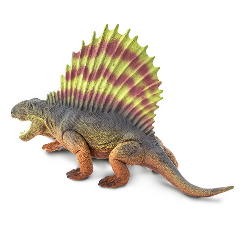 Dimetrodon Realistic Hand Painted Toy Figurine Model by Safari Ltd