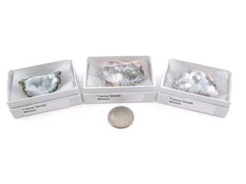 Tranca Geode, Gift Box Medium Size Qty 3 Free Shipping