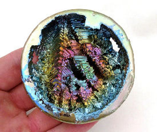 Rare Bismuth Crystal Geode- An Element Rare 45 mm Priced each