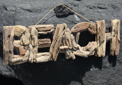 "Driftwood Beach Home Decor 15"" BuytheSea"