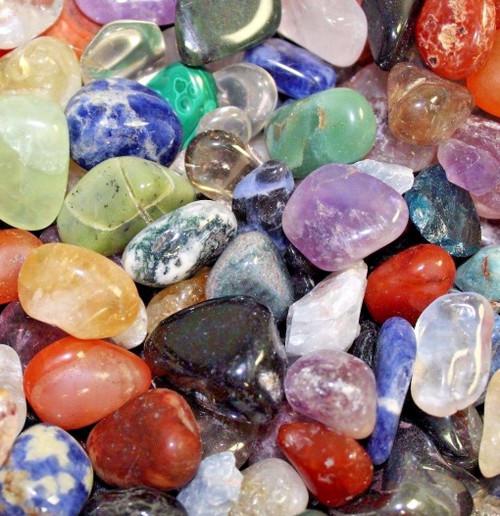 1/2 Lb Tumbled Gemstones Crystals Mix Rocks Stones