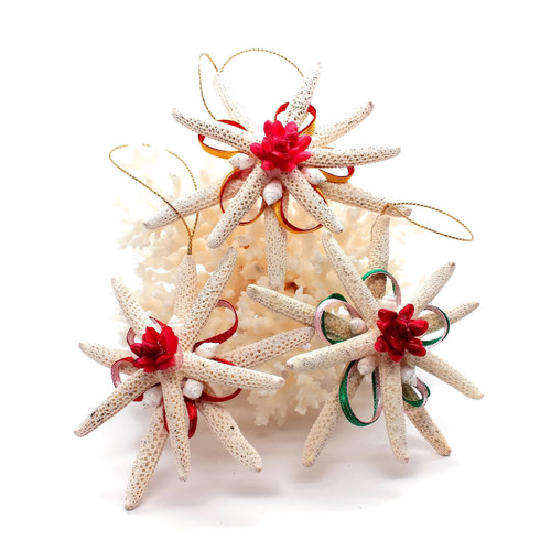 Starfish Christmas ornaments