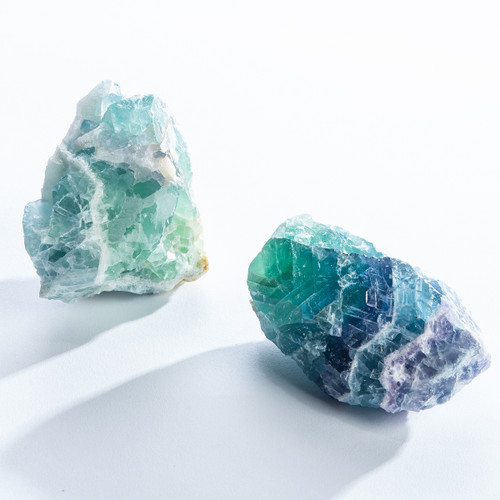 """Large Fluorite Crystal Cluster 3""""-4"""" Limited Stock"""