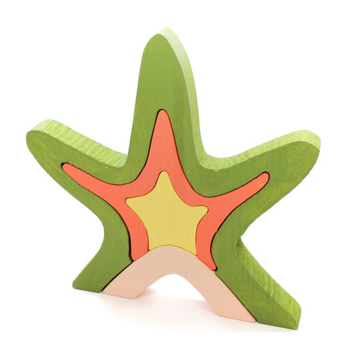 Starfish Stackers, Wood Stackers