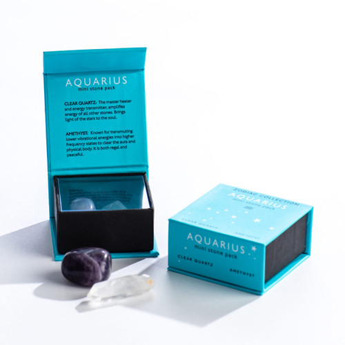 Aquarius Zodiac Mini Stone Pack