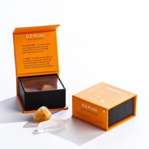 Gemini Zodiac Mini Stone Pack
