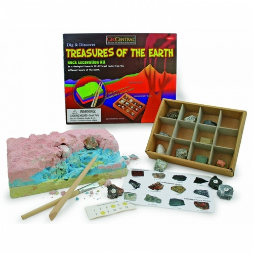 Earth Treasure Dig Kit, Free shipping by BuytheSeaOnline