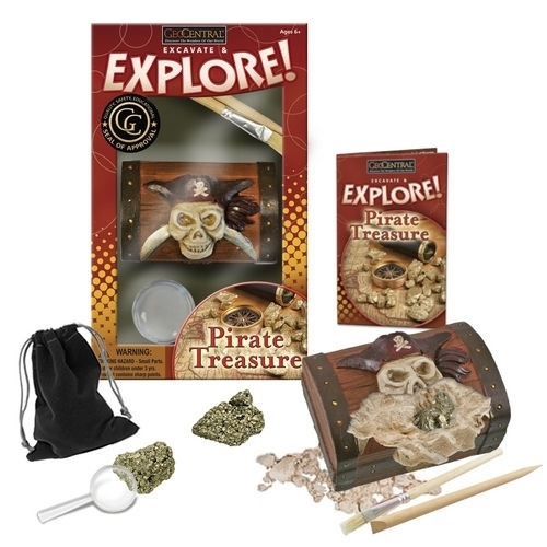 Dig for Pirates Treasure Kit, Free Shipping
