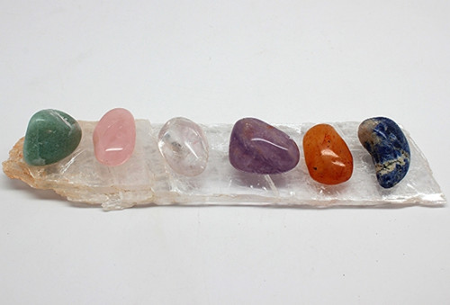 7 Healing Gemstone Crystals Free Shipping