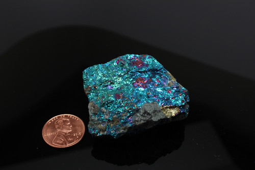 Chalcopyrite Peacock Ore 45 mm Free Shipping