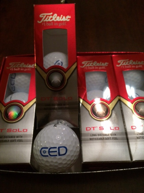 CED DT Solo Golf Balls