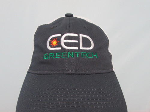 CED Greentech Unstructured Heavy Wash Mesh Hat
