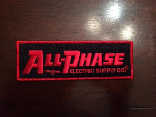 "All-Phase Red & Black 5""Patch"