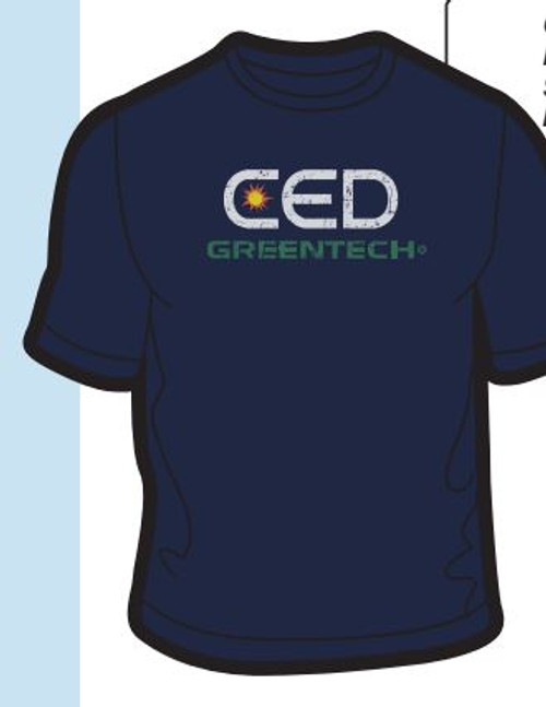 CED Greentech Full Color Print - Dark Shirts