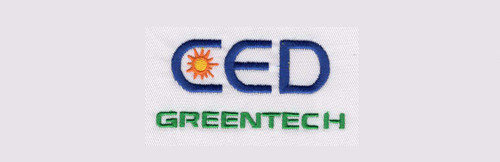 CED Greentech Embroidery Sew Out