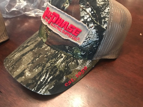 Custom All-Phase Mossy Oak Tattered Patch Tan Mesh Hat