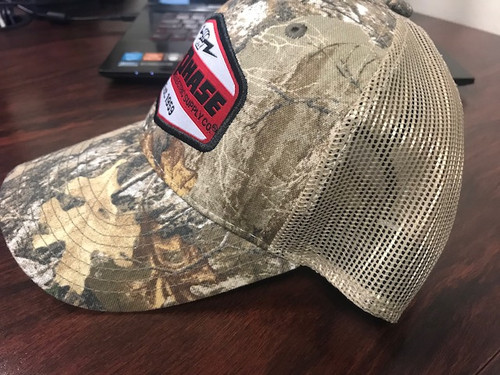 Custom All-Phase Realtree Camo Patch Hat
