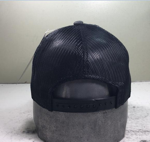 All-Phase Heather Black Low Profile Patch Hat