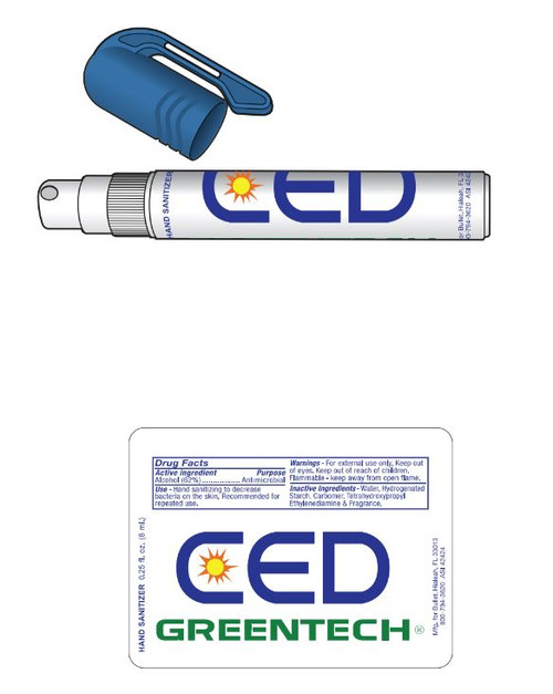 CED Greentech Hand Sanitizer