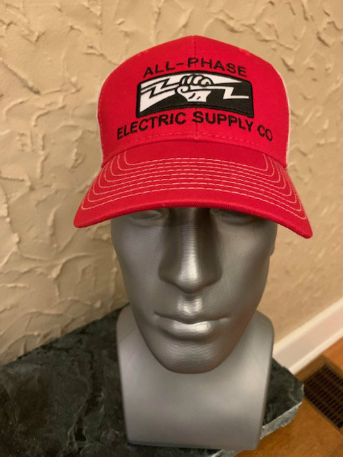 All-Phase Vintage Red & Putty Mesh Hat