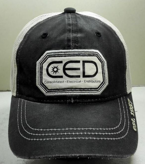 2019  CED Full Logo Unstructured HPD Patch Hat