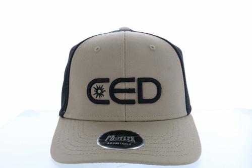 CED Mid-Profile Proflex Mesh Hat (Front Emb)